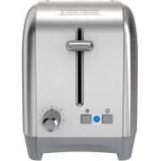 Black & Decker 2P9G7SF3OST7 500 W Pop Up Toaster(Silver)