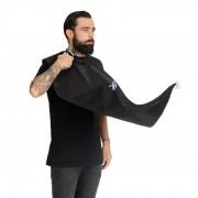 Pelerină pentru tuns barba la oglindă