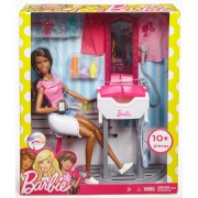 Barbie Set Salon De Infrumusetare Cu Blonda