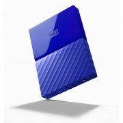 "HDD EXTERNAL 2.5"", 2000GB, WD My Passport, THIN, Blue, USB3.0 (WDBS4B0020BBL)"