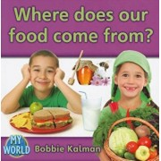 Where Does Our Food Come From', Paperback/Bobbie Kalman