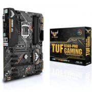 Дънна платка ASUS TUF B360-PRO GAMING (WI-FI), Socket 1151 (300 Series), Aura Sync, Intel Optane, 4 x DDR4, ASUS-MB-TUF-B360-PRO-GAMING-WI-FI