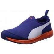 Puma Unisex FTR TF-Racer Slip-on Limoges and White Mesh Running Shoes - 9 UK