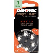 Rayovac 13 Proline Advanced Premium Zinc-Air - 1 blister