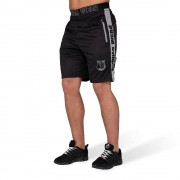 Gorilla Wear Shelby Shorts - Zwart/Grijs - L