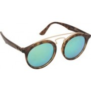 Ray-Ban Round Sunglasses(Blue)