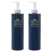 TBC エステティックピーリングジェル 2本セット【QVC】40代・50代レディースファッション
