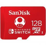 SanDisk Cartão de Memória SDXC 128GB para Nintendo Switch