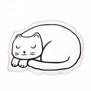 Perna decorativa Sass & Belle, bumbac, 42 x 10 x 30 cm, model cat nap time