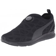 PUMA Men s Disc Sleeve Ignite Foam Running Shoe Black/Black/Black 8 D(M) US