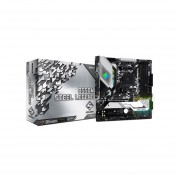 T. Madre ASRock B550M Steel Legend, Chipset AMD B550, Soporta