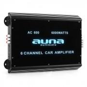 W2-AC600 6-Kanal Auto-Endstufe Car Verstärker 6000W Acryl