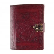 jegyzet blokk Pentagram Leather Journal - D1667E5