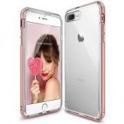 Husa telefon rearth Ringke Fusion Frame iPhone 7/8 Plus Rose Gold
