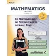 Gace Mathematics 022, 023 Teacher Certification Study Guide Test Prep, Paperback/Sharon A. Wynne