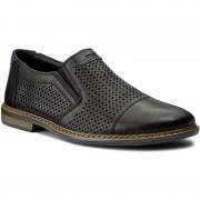 Обувки RIEKER - 13496-01 Black