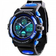 Kids Digital Sports Watches - Boys Waterproof Sport Watch with Alarm Stopwatch, LED Analog Wrist Watch with Chronograph, Alarm for Childrens by RSVOM - Детски часовник