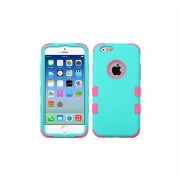 Funda Doble Protector Case Uso Rudo para iPhone 6 Plus-Menta