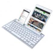 iK3380 Draadloze Bluetooth Keyboard QWERTY - iOS Android Windows - Wit