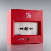 Buton de incendiu conventional, de interior UniPOS FD3050-RE (UniPOS)