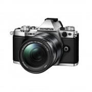 Olympus OM-D E-M5 Mark II Aparat Foto Mirrorless MFT Full HD Kit cu Obiectiv 14-150 mm f/4-5.6 Argintiu/Negru