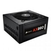 Захранване 860W, Corsair Professional Platinum Series AX860, ActivePFC, модулно, 80+ Platinum