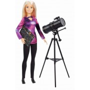 Papusa Barbie National Geographic Astrolog cu telescop 30 cm