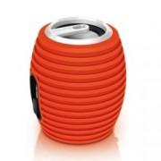 Тонколона Philips SBA3010ORG/00 (нарушена опаковка), 1.0, RMS 2W, 3.5 mm jack, оранжев, акумулаторна батерия до 8 часа, прибиращ се кабел, силиконово тяло
