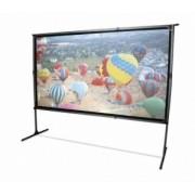 Ecran proiectie, de podea, 221.4 x 124.5 cm, FRONT / REAR, EliteScreens Yard Master 2 Dual OMS100H2-DUAL, Format 16:9