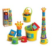 The Magic Toy Shop Gerry Giraffe Baby Toddler Stacking Nesting Sorting Cups Blocks Activity Fun Time