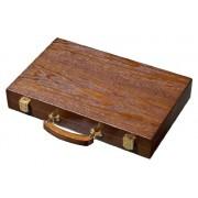Set joc table backgammon frasin 38x48 cm