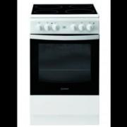 Готварска печка Indesit IS5V5GCW/E, клас А+++, 59 л. общ обем, 4 котлона, 5 фукнции на фурната, механичен таймер, бяла
