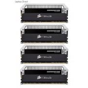 Corsair CMD32GX3M4A1866C10 32GB dominator Platinum Desktop Memory, 8GB x 4 kit