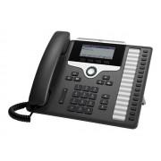 Cisco IP Phone 7861 - Téléphone VoIP - SIP, SRTP - 16 lignes - Charbon - remanufacturé