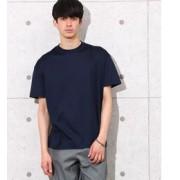 SOLID T ALBERTO 【ONLY T-Shirts】【アダム エ ロペ/ADAM ET ROPE' メンズ Tシャツ・カットソー ネイビー(40) ルミネ LUMINE】