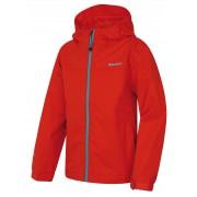 Husky Zunat Kids 164-170, červená Dětská outdoorová bunda