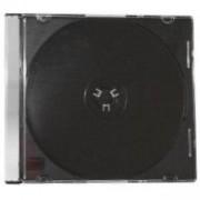 Estillo Кутийка за компакт дискове Slim Black /цена за 1 бр./, VALI-CDBOX-BL