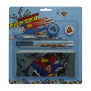 Superman Stationery Set - Combo 7 Pieces in One