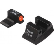 Trijicon HK109O H&K P2000 HD Night Sight Set (Orange Front Outline)