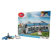 Planet Of Toys 545 pcs. Long Bus Transit Building Blocks with Instruction Manual