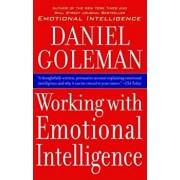 Working with Emotional Intelligence, Paperback/Daniel Goleman