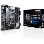 Asus PRIME Z490M-PLUS - Moederbord - MIcro-ATX - LGA1200 Socket - Z490 - Intel I219-V 1Gb Ethernet - ALC887 HD Audio