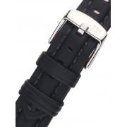 Curea de ceas Morellato A01X3823A58019CR18 schwarzes Uhren18mm