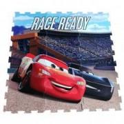 Covor puzzle din spuma Cars Disney 91 x 91 cm 9 piese