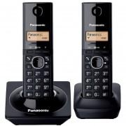 Teléfonos Inalámbricos Panasonic KX-TG1712MEB Negros