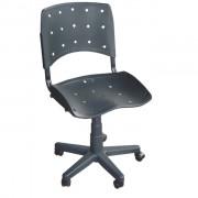Cadeira Giratória Iso Estrutura Preto CI-01G Pethiflex