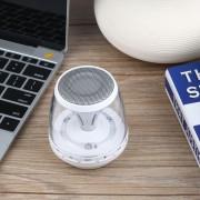 EB LED Inalámbrico Altavoces Bluetooth Manos Libres Soporte Tarjeta TF Lectura USB FM-blanco