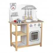 Baninni Play Kitchen Cucina Wood Grey