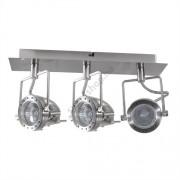 Lámpatest mennyezeti, GU10 SONDA hármas, matt króm Kanlux - 4797