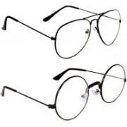 NEW ASHA OPTICALS Wayfarer Sunglasses(Clear)